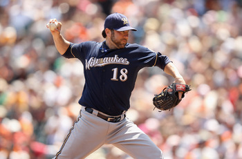 SP Shaun Marcum was 20-11 with a 3.60 ERA over the past two seasons with the Brewers.
