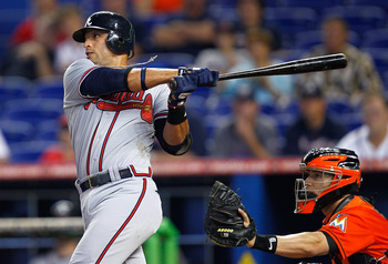 3B Martin Prado hit .301 BA, 10 HR, 70 RBI last season.