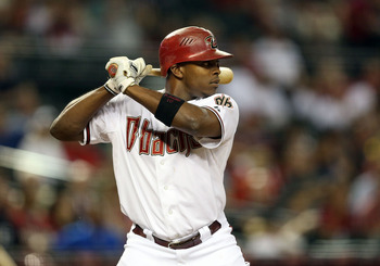 LF Justin Upton hit .280 BA, 17 HR, 67 RBI, 18 SB in a down year last season.
