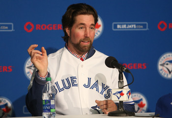 SP R.A. Dickey is the reigning NL Cy Young winner after going 20-6 with a 2.73 ERA.