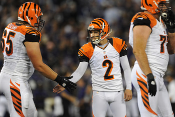 Mike Nugent has struggled with inaccuracy and injury in 2012, paving the way for Josh Brown to shine.