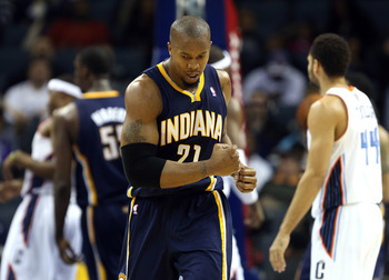 David West has been outstanding for the Pacers this season.