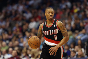 Damian Lillard is one of the best rookies in the league.