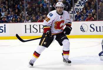 Calgary Flames forward Lee Stempniak could be a useful addition to help the Coyotes bolster their scoring attack.