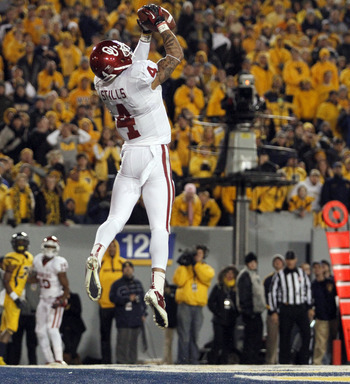Wide receiver Kenny Stills led the Sooners with 11 touchdowns this season.