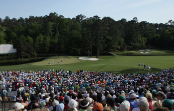 The 11th and 12th at Augusta National Golf Club.