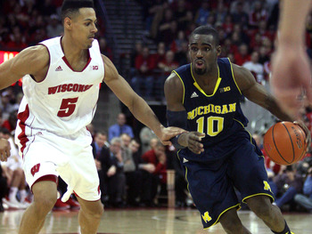 Tim Hardaway Jr. and the Wolverines had trouble operating out of the half court once again.