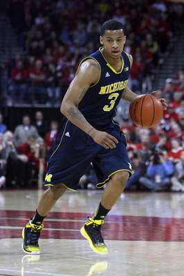 Michigan needs Trey Burke to begin heating up from three-point range soon.