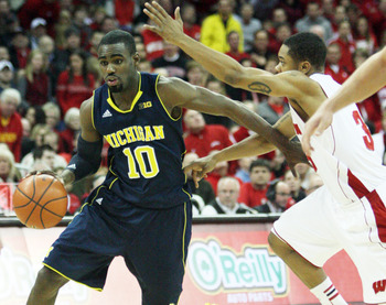 Tim Hardaway Jr. hit the biggest shot of the game for Michigan.