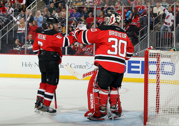 Marty was just being Marty and the Devils sit alone atop the Eastern Conference.