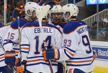 The Oilers haven't been getting the bounces resulting in even-strength goals this season.