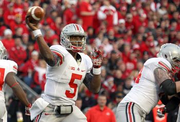 Braxton Miller showed some improvement in 2012, but will need more consistency in 2013.