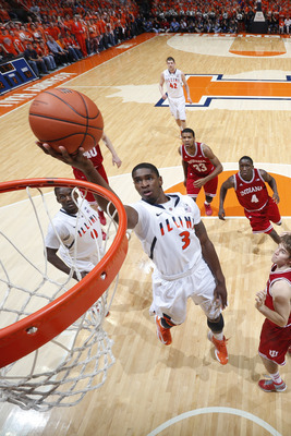 Brandon Paul has led the Illini with 17.6 points per game.