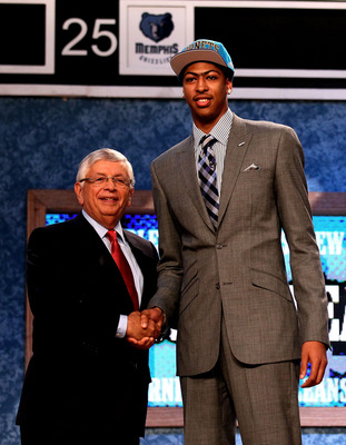 Davis went No. 1 overall in the 2012 NBA draft.