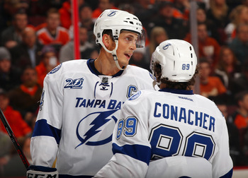 Lecavalier has been a steady voice for the young Conacher.