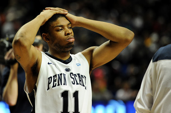 Nothing's been easy for Penn State G Jermaine Marshall this season.