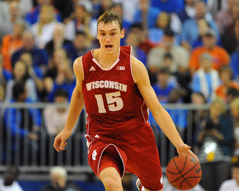 Sam Dekker played a pivotal role in the Badgers' upset win over Michigan.