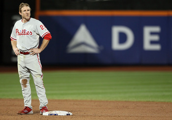 Utley also had a tough time coming off his injury.