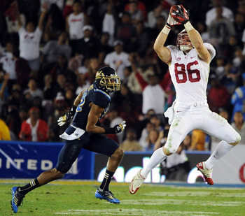 While Taboada can play on both sides of the ball, look for Stanford to turn him into tight end Zach Ertz's replacement.
