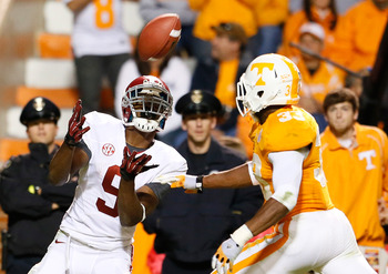 Amari Cooper hauls in a big pass vs. the Vols defense