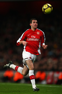 Amaury Bischoff makes a rare Arsenal appearance.