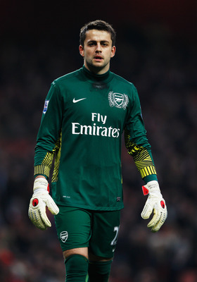 Lukasz Fabianski has missed most of this season through injury.