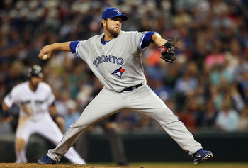 Lyon pitched to great success last season with the Toronto Blue Jays and Houston Astros.