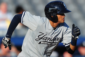 Yankees' Top Prospect Mason Williams made huge strides in 2012. Will he keep it up in 2013? Courtesy of Kevin Pataky, MILB.com