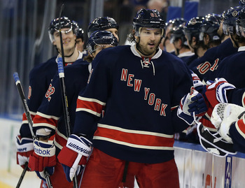 Forward Rick Nash was supposed to be the missing piece for the Rangers.