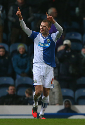 Jordan Rhodes has scored goals for fun for Blackburn.