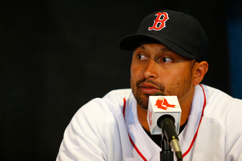 New Red Sox right fielder Shane Victorino is just one of several new faces that will roam Fenway Park in 2013.