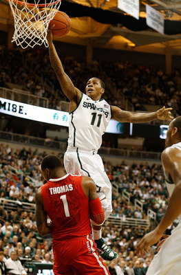 Keith Appling will be a major key to a Michigan State victory on Tuesday. Michigan needs to make him uncomfortable.