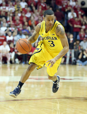 Trey Burke will need to get out and run in transition for Michigan to top its in-state rival.