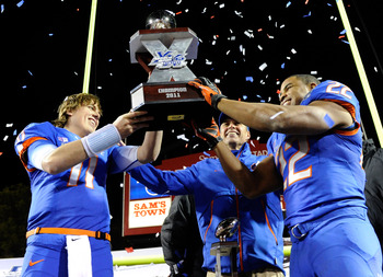 Boise St. has been ranked in final AP Top 10 four times this decade.