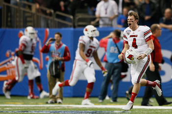 Louisville finished the 2012 season ranked No. 13 overall in AP Poll.