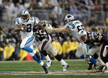 Carolina Panthers had one Super Bowl appearance in this past decade.