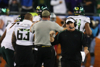 Chip Kelly opted to leave Oregon for Philadelphia and the NFL.