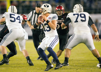 There are no Top 10 finishes for BYU in the past decade.