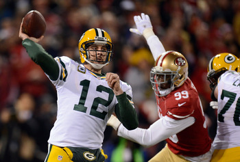 The Green Bay Packers will say goodbye to some of Aaron Rodgers' targets in 2013.
