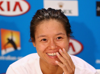 Li Na is always quick with a smile but is one of the most devastating players on tour