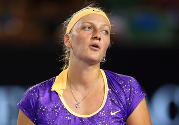 Kvitova has struggled for form since her Wimbledon win in 2011