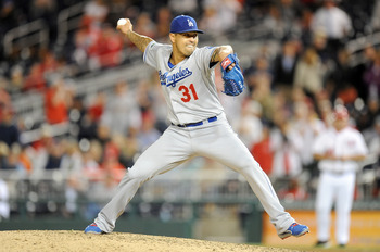 League enters 2013 as the Dodgers primary closer.
