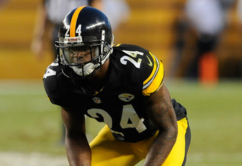 Ike Taylor ended the 2012 season on the injured reserve.