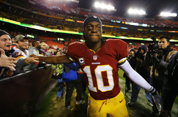 When will RG3 make his return to the field?