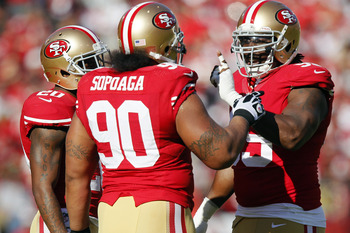 Defensive tackle Isaac Sopoaga saw a diminished role in 2012.