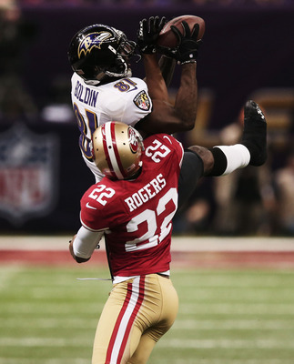 49ers cornerback Carlos Rogers saw a fall in his production during the 2012 season.