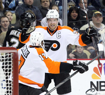 Claude Giroux: Undisputed Flyers Leader