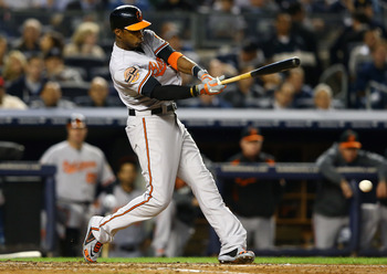 Adam Jones and the Orioles will not have quite the level of success they had in 2012