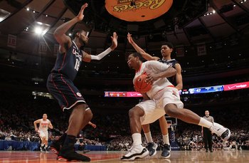 The regular-season Big East title has been decided during matchups between these two teams.