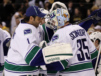 Luongo and Schneider are both playing great hockey.